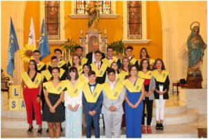 Graduación del alumnado de cuarto de ESO en La Salle Viña ·